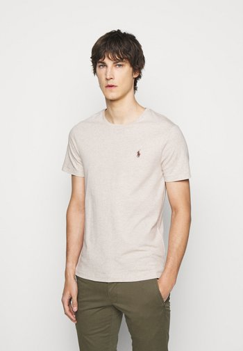 SHORT SLEEVE - Jednoduché triko - expedition dune