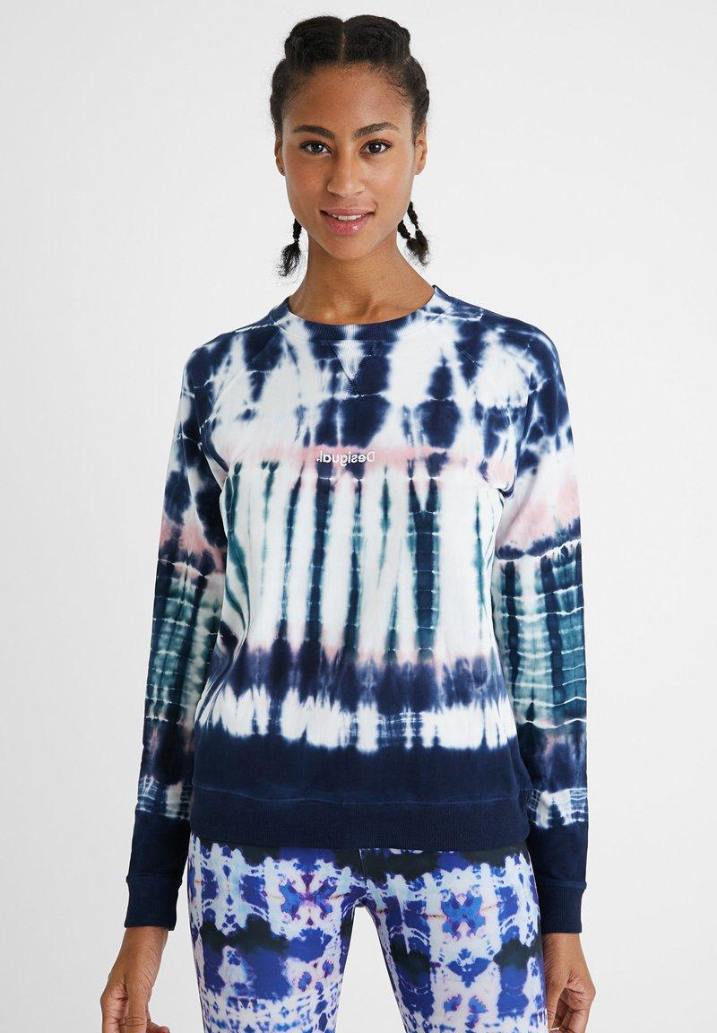 Desigual - CREWNECK  - Sweatshirt - blue