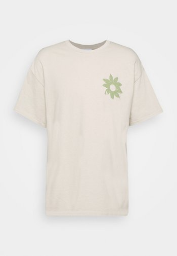 FLOWER - Printtipaita - beige