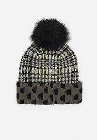 Desigual - HAT MONOGRAM REVERSIBLE - Hat - black - 1
