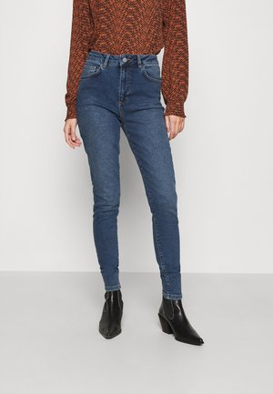 HIGH WAIST - Jeans Skinny Fit - mid blue wash