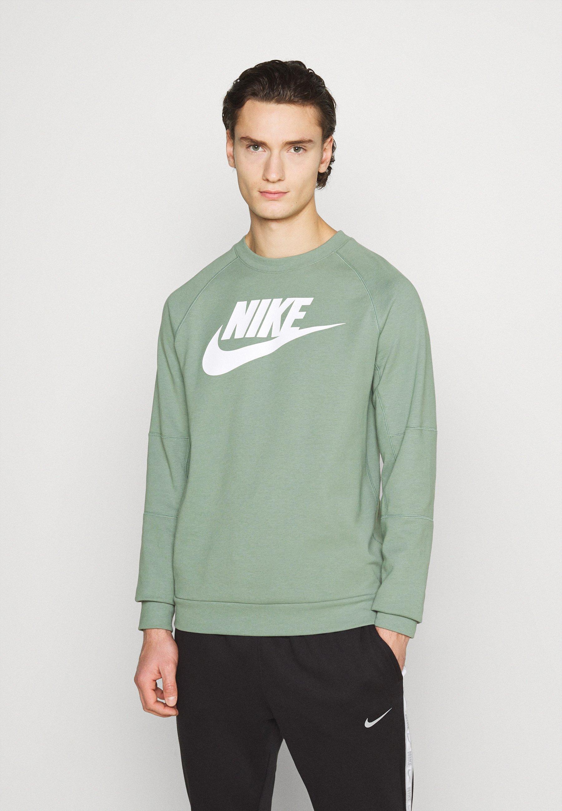 Deflector Imperialismo Ser amado  Nike Sportswear MODERN - Sweatshirt - spiral sage/white/green -  Zalando.co.uk