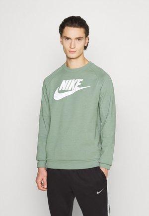 MODERN - Sweatshirt - spiral sage/white