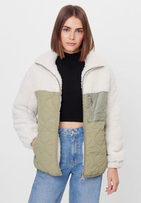 Bershka - Winter jacket - stone - 0