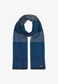 s.Oliver - Scarf - dark blue stripes - 4