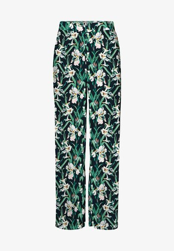 VMSIMPLY EASY WIDE PANT - Trousers - navy blazer