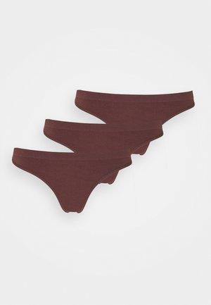 3 PACK - String - brown