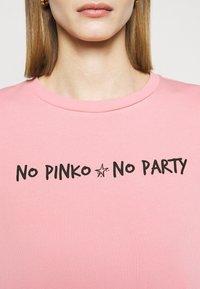 Pinko - ALGEBRA MAGLIA - Sweatshirt - pink - 5