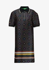 Benetton - DRESS - Shirt dress - blue - 5