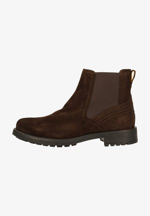 Classic ankle boots - dark brown