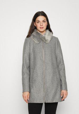 VMMOLLYMY JACKET - Klasyczny płaszcz - medium grey melange