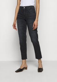 DRYKORN - LIKE - Straight leg jeans - blue-black denim - 0