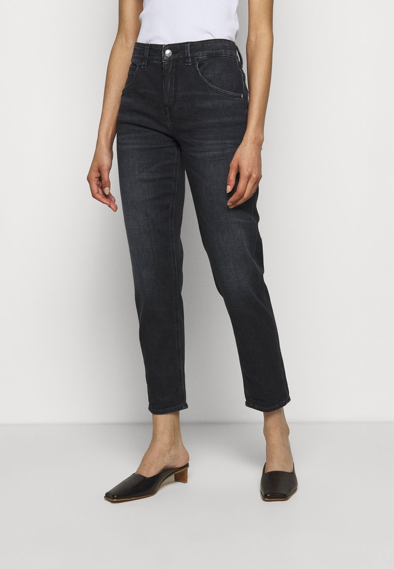DRYKORN - LIKE - Straight leg jeans - blue-black denim