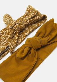 Müsli by GREEN COTTON - PETIT FLEUR HEADBAND 2 PACK UNISEX - Hair styling accessory - pesto - 1