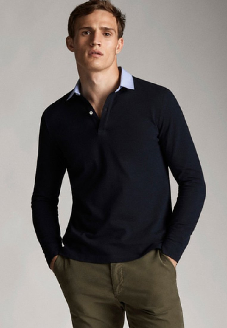 Massimo Dutti - Polo shirt - dark blue
