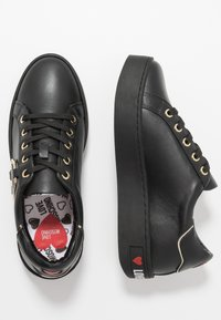 Love Moschino - DAILY LOVE - Zapatillas - black - 3