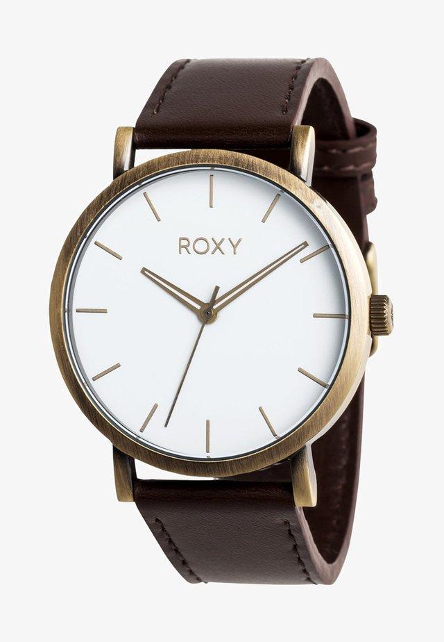 MAYA - Horloge - dark brown