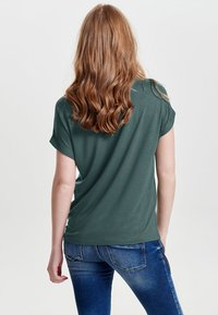 ONLY - ONLMOSTER O-NECK TOP - T-shirts - balsam green - 2