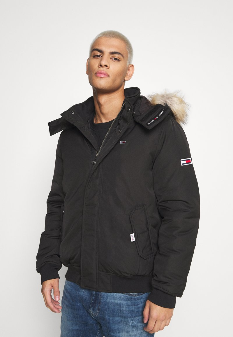Tommy Jeans - TECH BOMBER UNISEX - Giacca invernale - black