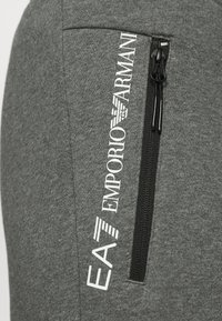 EA7 Emporio Armani - PANTALONI - Tracksuit bottoms - dark grey mel - 6