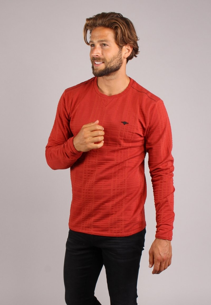 Gabbiano - Long sleeved top - red