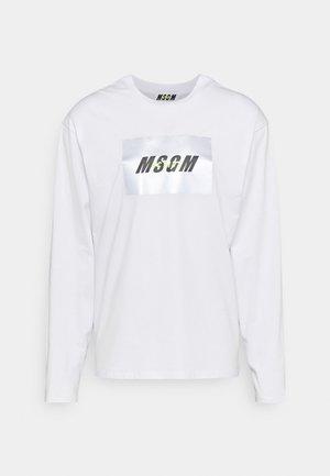 Långärmad tröja - optical white