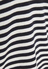 CHINTI & PARKER - STRIPE WITH CONTRAST NECK - Pullover - cream/navy/orange - 2