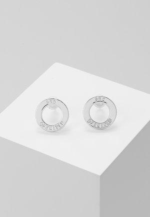 HEGE - Earrings - plain silver-coloured