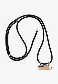 Six - HANDYKETTE OHNE CASE MIT GOLD-APPLIKATIONEN - Other accessories - schwarz - 0