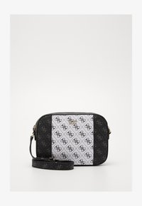 Guess - KAMRYN CROSSBODY TOP ZIP - Across body bag - coal/multi - 3