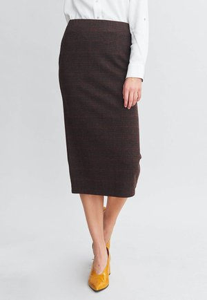 NOBLE - Pencil skirt - gingham