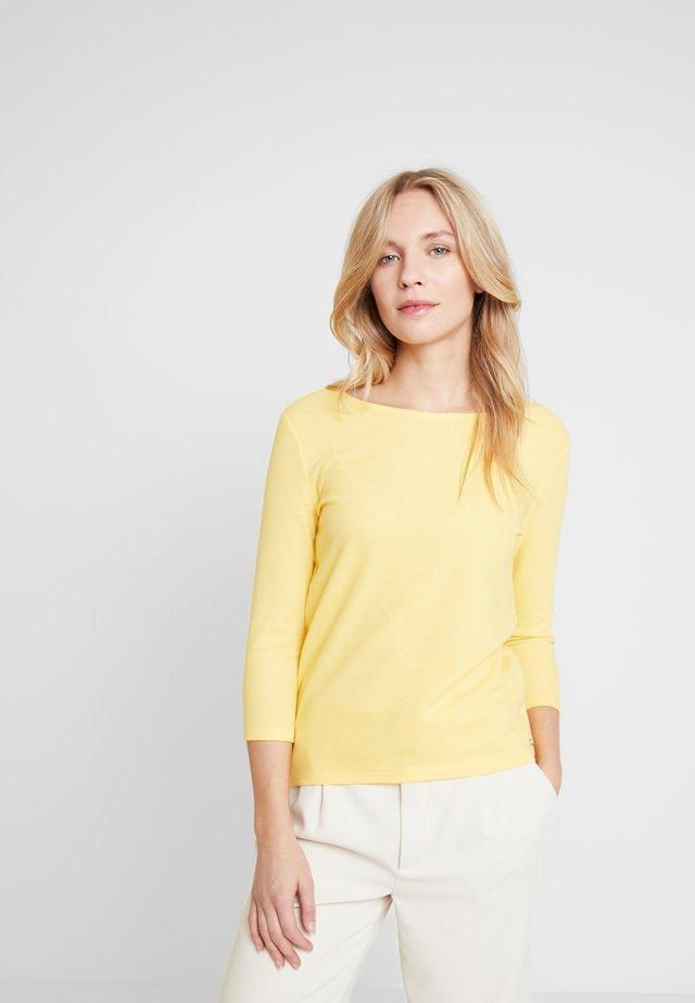 EASY - Long sleeved top - golden summer yellow