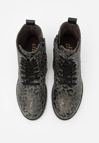 clic! - Lace-up ankle boots - montes grafito/agra - 3
