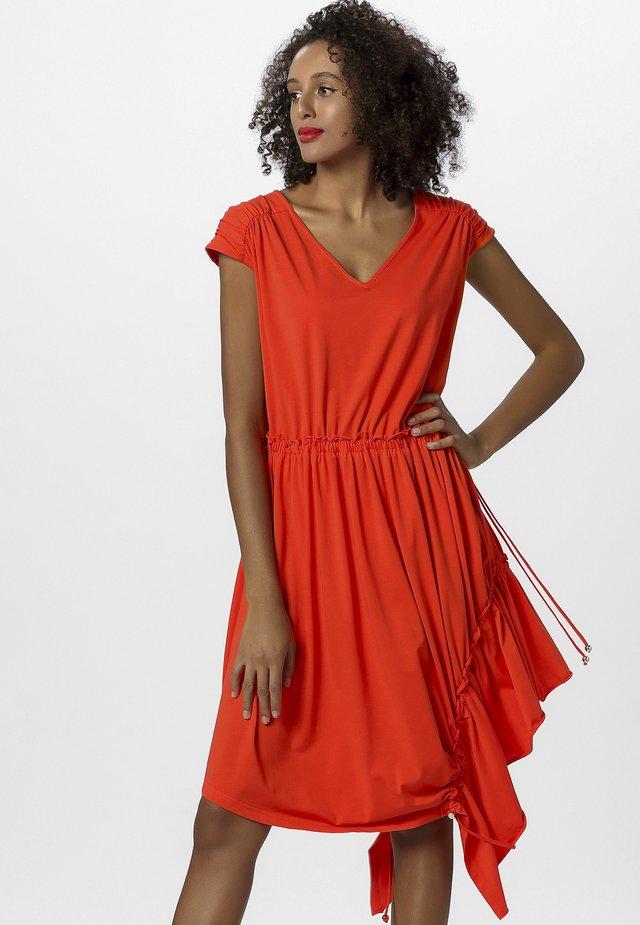 Robe d'été - orange
