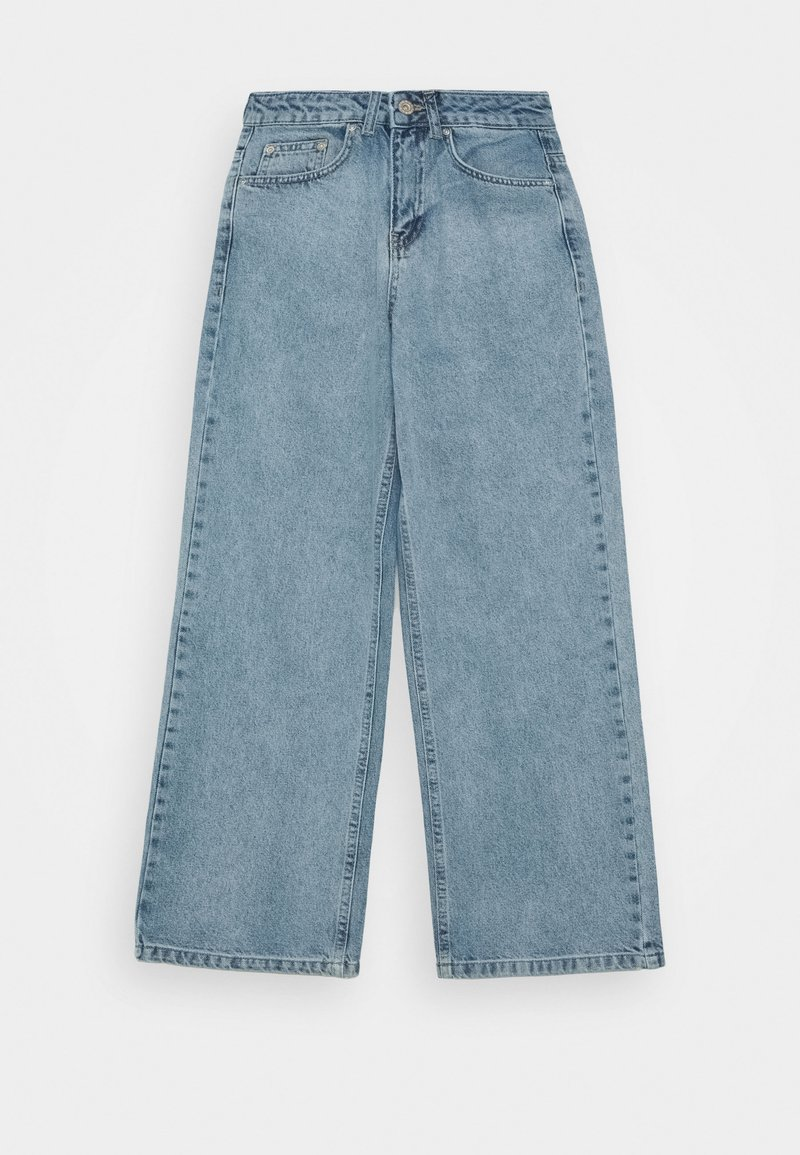 Grunt - WIDE LEG - Relaxed fit jeans - iris