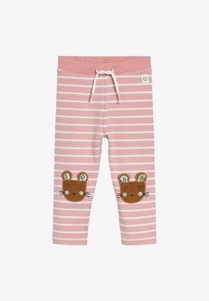 MOUSE  - Leggings - Trousers - pink
