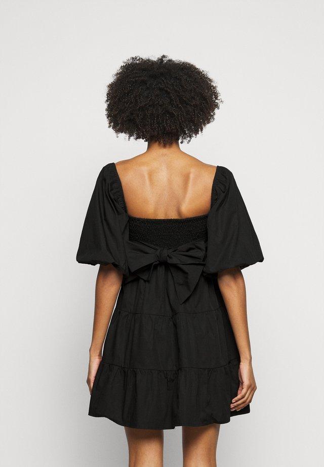 ERYN MINI DRESS - Denní šaty - plain black