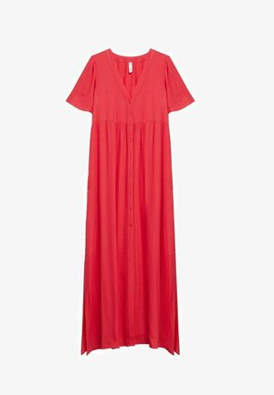 Vestido largo - rouge