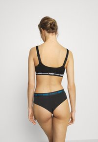 Puma - WOMEN BRAZILIAN 2 PACK - Briefs - blue / black - 2