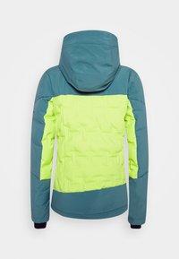 Columbia - WILD CARDDOWN - Ski jacket - voltage/canyon blue - 1