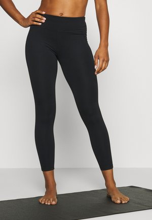 CONTOUR WORKOUT LEGGINGS - Leggings - black