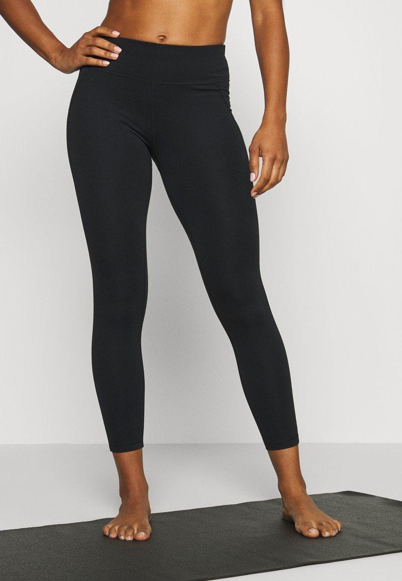 Sweaty Betty - CONTOUR WORKOUT LEGGINGS - Leggings - black