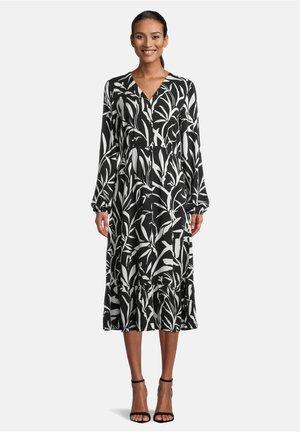 Robe d'été - schwarz/weiß