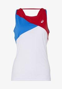 ASICS - CLUB TANK - Sports shirt - electric blue/classic red - 3