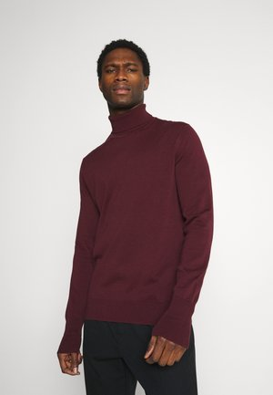 SIGNATURE ROLL NECK - Jumper - port