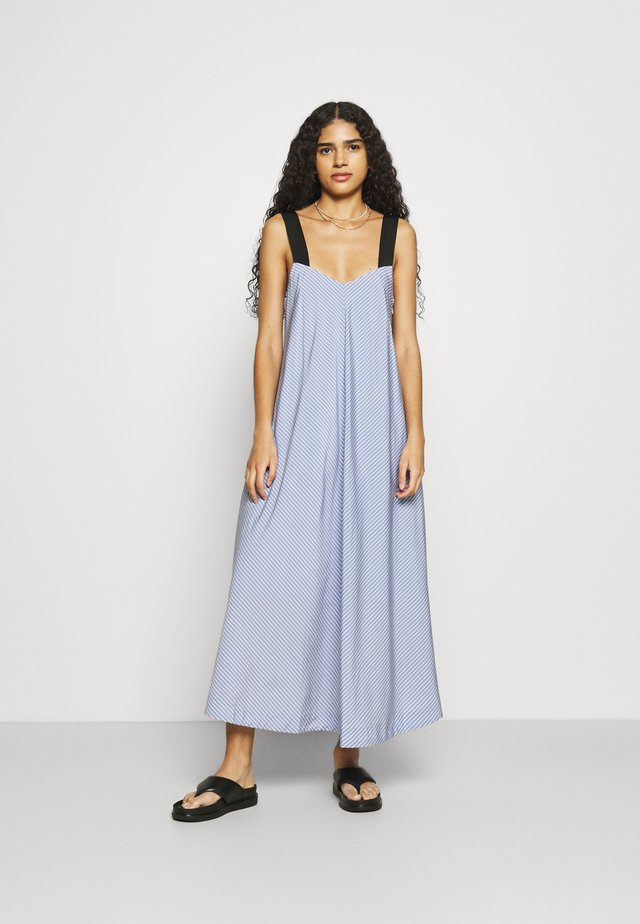DIANA DRESS - Sukienka letnia - mini blue
