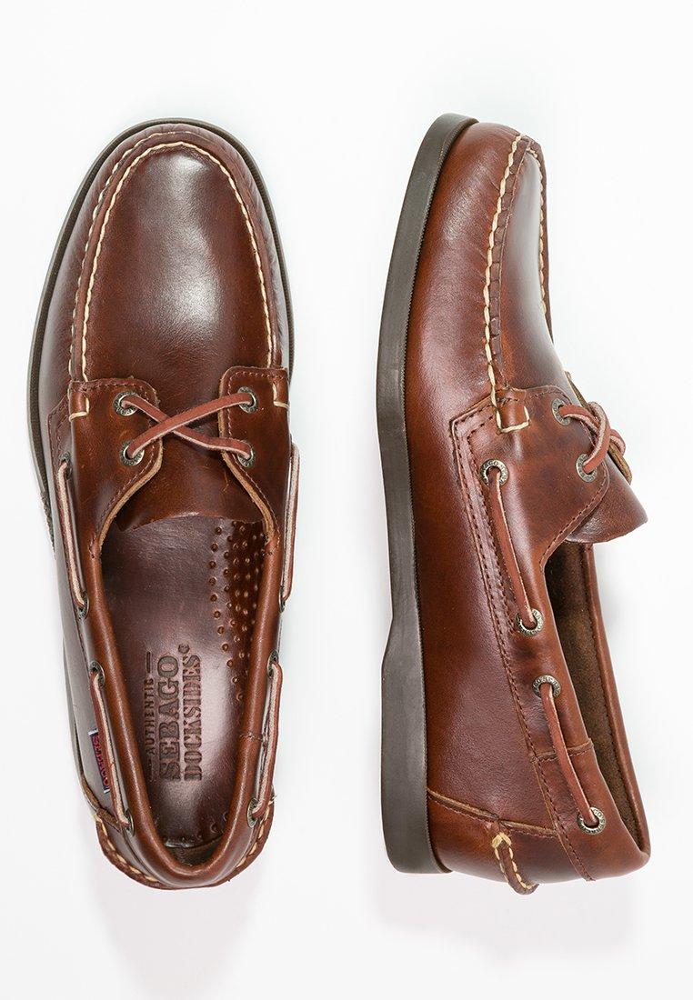Sebago DOCKSIDES PORTLAND WAXED Båtsko brownbrun