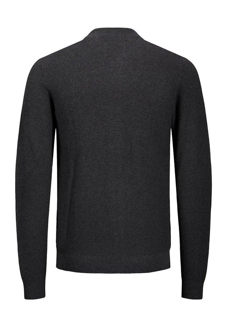 2020 Newest Men's Clothing Jack & Jones JJAARON KNIT CARDIGAN Cardigan dark grey melange srlFwcSXZ