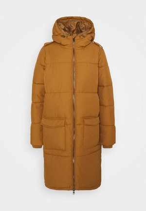 OBJZHANNA LONG JACKET  - Winter coat - camel