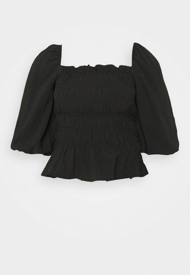 PCASDIA TOP - Bluser - black